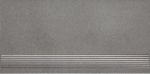 Paradyż Naturstone Grafit stopnica mat