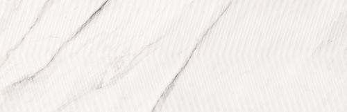 Opoczno Carrara Chic White Chevron Structure Glossy OP989-005-1