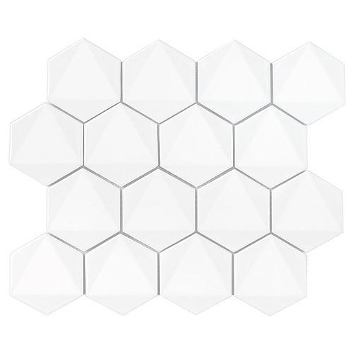 Dunin Hexagonic White 74