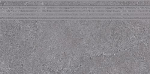 Cersanit Colosal grey steptread matt rect ND1140-007