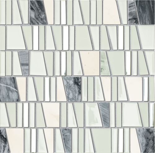 Tubądzin Elements Drops Stone White