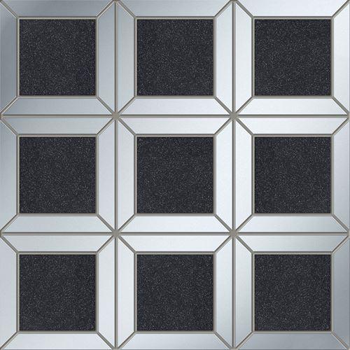 Tubądzin Lucid square black