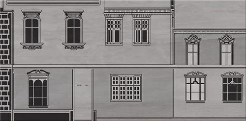 Cersanit City Grey Inserto House B WD613-010