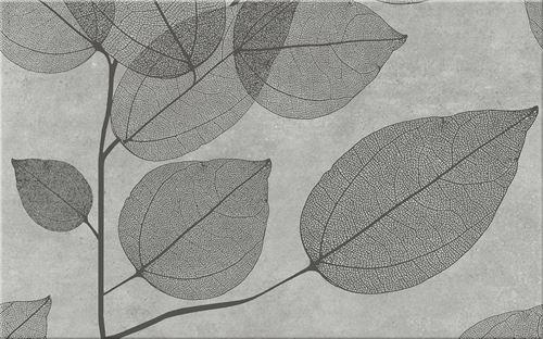 Cersanit Lussi Light Grey Inserto Leaf B WD439-003