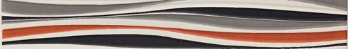Cersanit Luna multicolour border WD213-007
