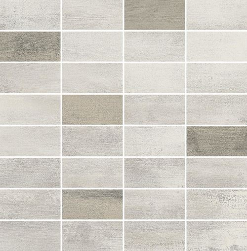 Opoczno Floorwood White-Beige Mix Mosaic OD707-035
