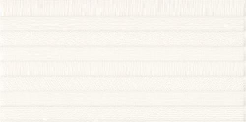 Cersanit Ps801 white satin pattern line structure W565-002-1