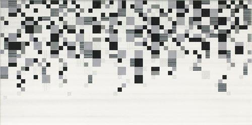 Opoczno Sindi White Inserto Geo OD794-003