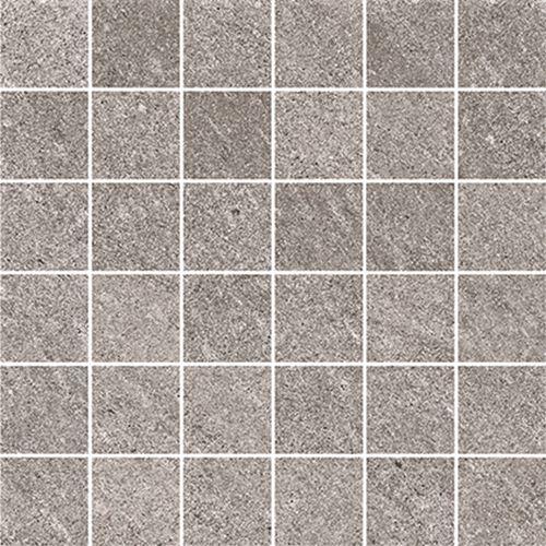Cersanit Bolt light grey mosaic matt rect ND090-047