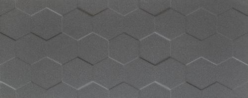 Tubądzin Elementary graphite hex STR