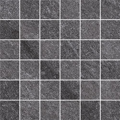Cersanit Bolt dark grey mosaic matt rect ND090-014