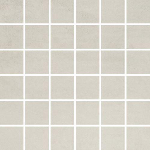 Opoczno Concrete Flower Light Grey Mosaic ND008-004
