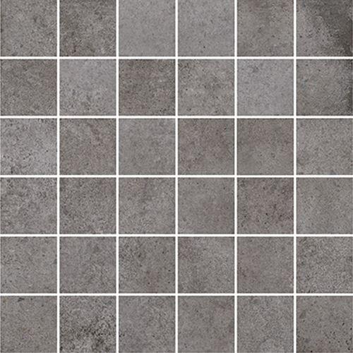 Cersanit Diverso grey mosaic matt rect ND576-042