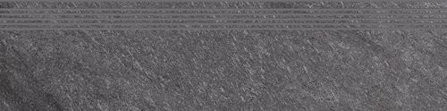 Cersanit Bolt dark grey steptread matt rect ND090-017