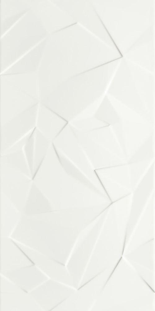 Paradyż Synergy Bianco Ściana B Struktura