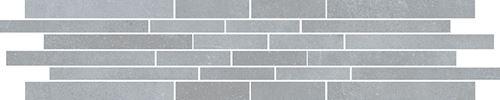 Cersanit Velvet Concrete light grey mosaic matt stripes rect ND1110-053