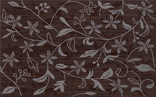 Cersanit Tanaka brown inserto flower WD798-016