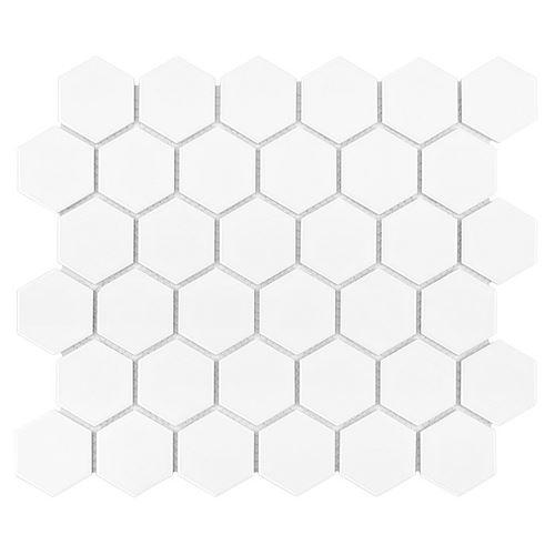 Dunin Hexagonic White 51 matt