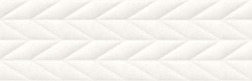 Opoczno French Braid White Structure NT036-001-1