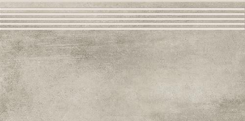 Opoczno Grava Light Grey Steptread OD662-074