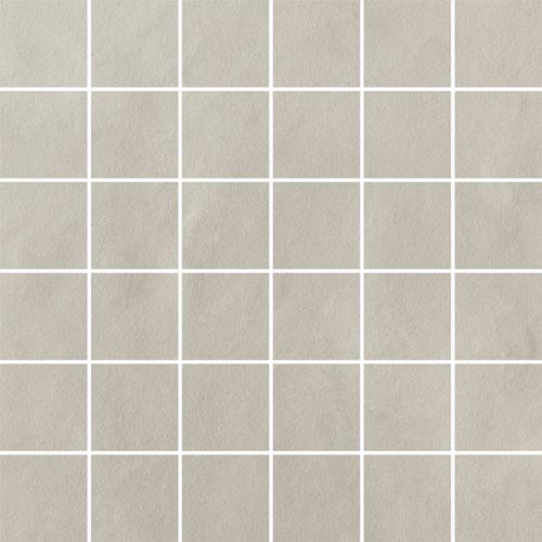 Paradyż Tigua Bianco Mozaika Cięta K.4,8X4,8 Mat.