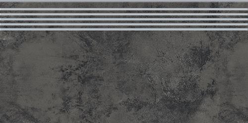 Opoczno Quenos Graphite Steptread OD661-081