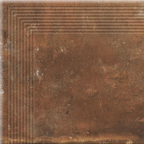 Cerrad Stopnica narożna Piatto red 17566