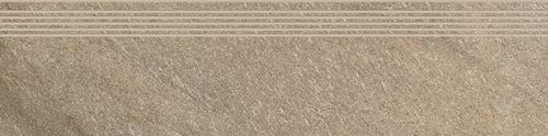 Cersanit Bolt brown steptread matt rect ND090-063