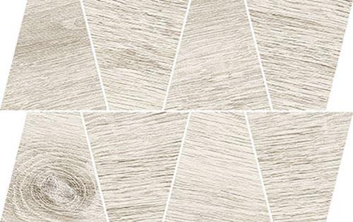 Opoczno Prime White Mosaic Trapeze OD498-078