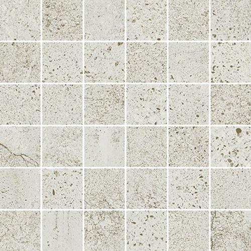 Opoczno Newstone White Mosaic Matt OD663-090