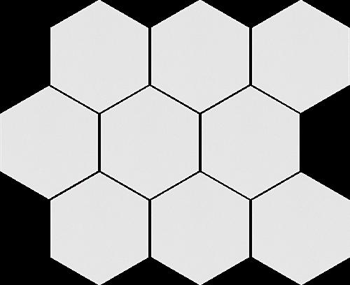 Cerrad Mozaika heksagon Cambia white lappato 36750