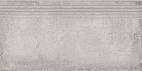 Cersanit Diverso light grey steptread matt rect ND576-040