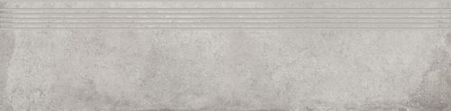 Cersanit Diverso light grey steptread matt rect ND576-039