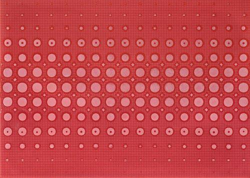 Cersanit Optica red inserto modern WD240-016