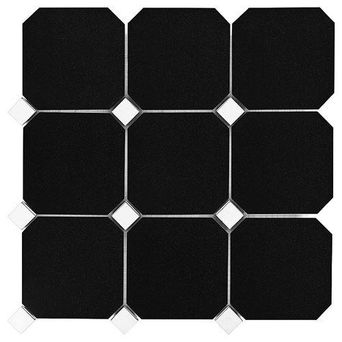 Dunin Black&White Granite Black Ostagon 100