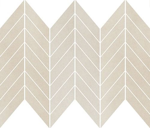 Cersanit Safari cream chevron mix mosaic matt WD489-005