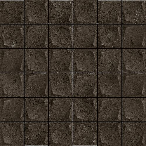 Paradyż Minimal Stone Nero Mozaika Prasowana K.4,8X4,8