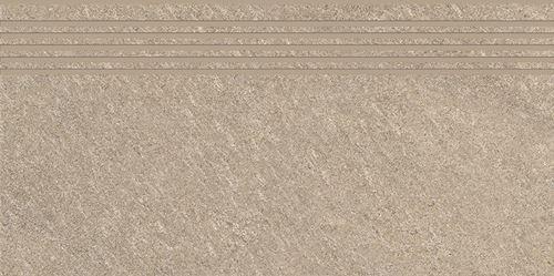 Cersanit Bolt beige steptread matt rect ND090-013