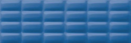 Opoczno Blue Glossy Pillow OP685-002-1