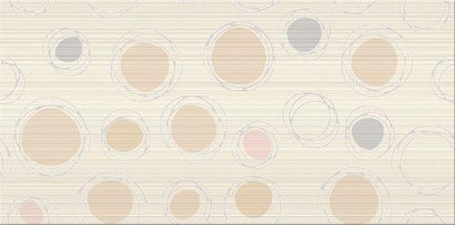 Cersanit Hortis beige inserto geo WD618-006