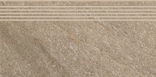 Cersanit Bolt brown steptread matt rect ND090-064