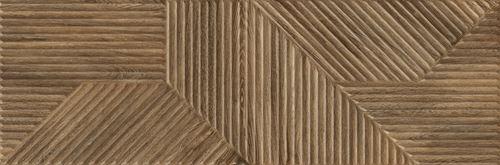 Paradyż Woodskin Brown Ściana A Struktura Rekt.