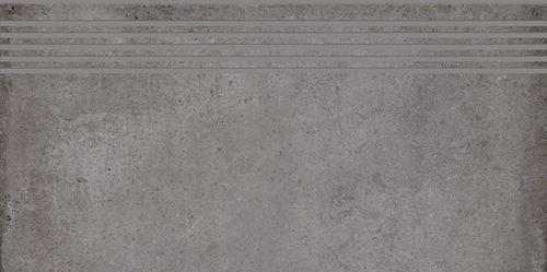 Cersanit Diverso grey steptread matt rect ND576-046