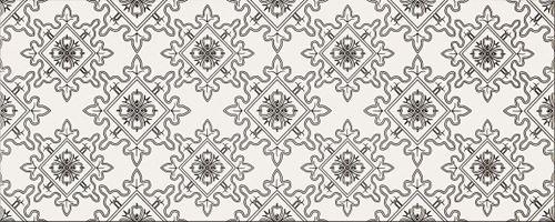 Opoczno Black&White Pattern E OP399-009-1