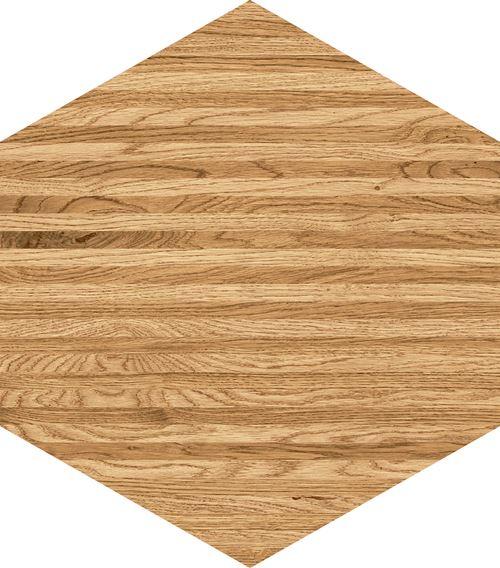 Domino Flare wood hex