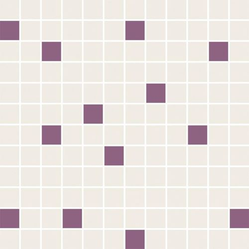 Paradyż Luciola Ecru/viola Mozaika Cięta Mix