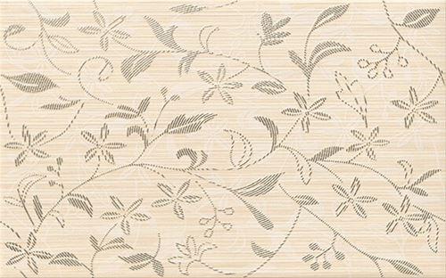 Cersanit Tanaka cream inserto flower WD798-011
