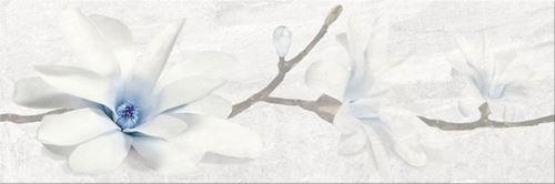 Opoczno Stone Flowers Grey Inserto OD683-005