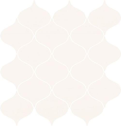 Opoczno Ocean Romance White Mosaic Satin OD1023-009