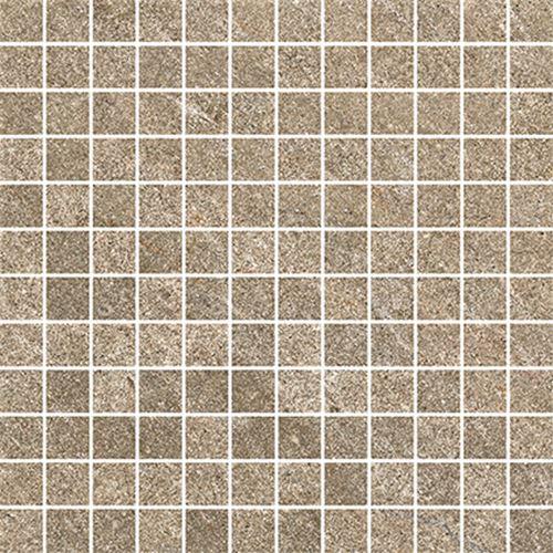 Cersanit Bolt brown mosaic matt ssq rect ND090-055